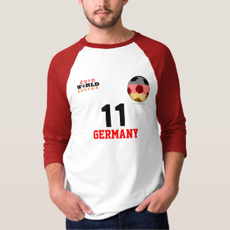 World Cup Germany #11 Klose T-Shirt  Both Sides