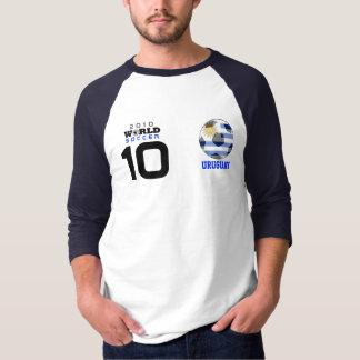 World Cup Golden Ball #10 Forlan Uruguay  T-Shirt
