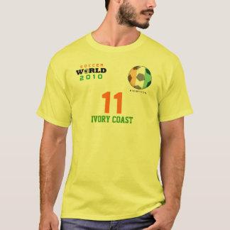 World Cup Ivory Coast #11 Drogba T-Shirt
