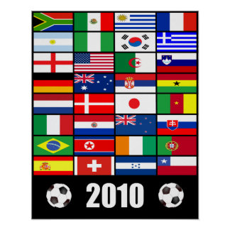 World Cup Soccer 2010 Poster