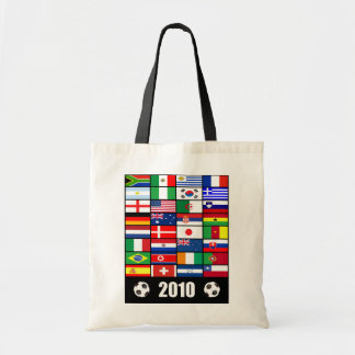 World Cup Soccer 2010 Posters Tote Bags
