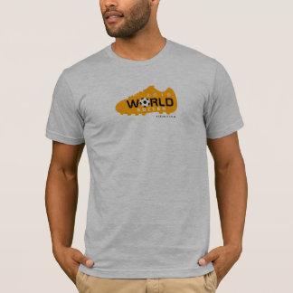 World Cup Soccer 2010 Shoe Orange 1 T-Shirt