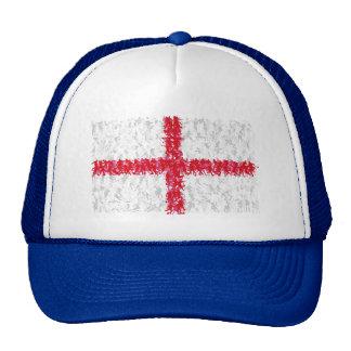 World Cup Soccer 2014 - English flag, Trucker Hat