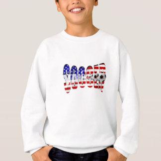 World Cup Soccer Brazil 2014 US flag USA futbol Sweatshirt