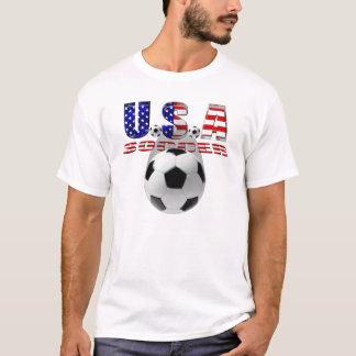 World Cup Soccer Brazil 2014 US flag USA futbol T-Shirt