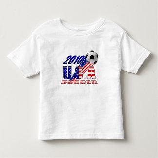 World Cup Soccer Brazil 2014 US flag USA futbol Toddler T-shirt
