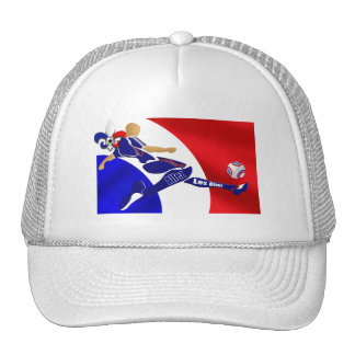 World Cup Soccer - French Football France Flag Trucker Hat