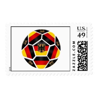 World Cup Soccer - Germany Soccer 2014 flag Stamps