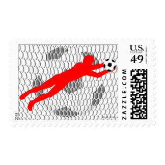 World Cup Soccer Goal Postage