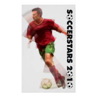 World Cup Soccer Posters - 2010 Radial