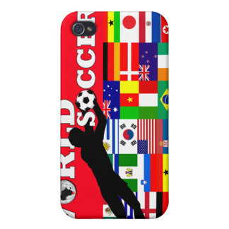 World Cup Soccer Speck iPhone 4 Case