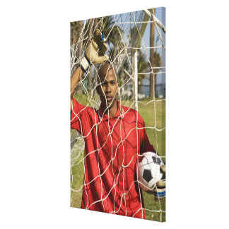 World Cup Soccer to be held in South Africa 2010 Canvas Print