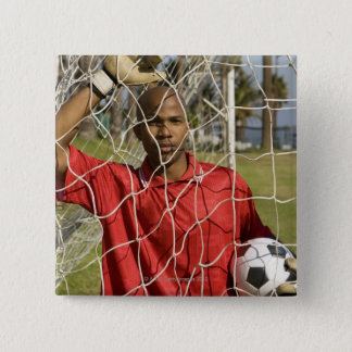 World Cup Soccer to be held in South Africa 2010 Pinback Button