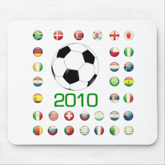 World Cup T-Shirts 2010 South Africa Mouse Pad