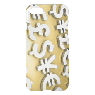 World Currencies iPhone 8/7 Case