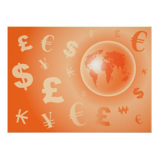 World Currency Poster