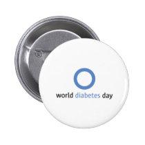 World Diabetes Day Button