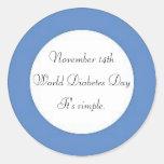 World Diabetes Day Sticker