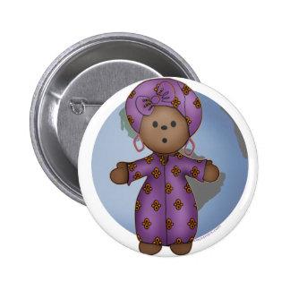 World Doll 2 Inch Round Button
