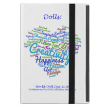 World Doll Day 2016 iPad Tablet Cover