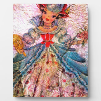 WORLD DOLL FRANCE PLAQUE
