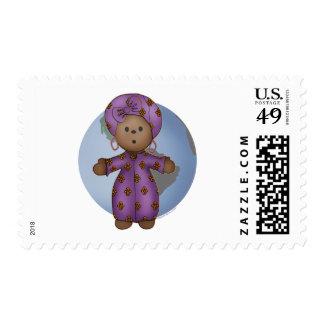 World Doll Postage Stamp