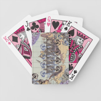 World domination bicycle playing cards