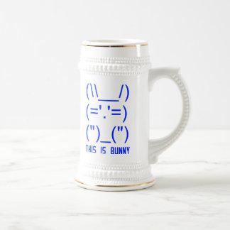 World Domination Bunny Beer Stein