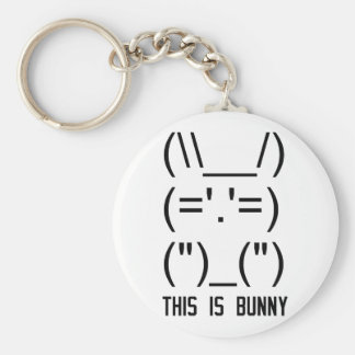 World Domination Bunny Keychain