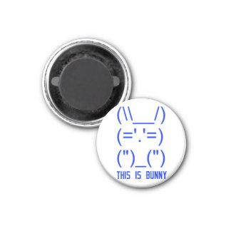 World Domination Bunny Magnet