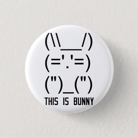 World Domination Bunny Pinback Button