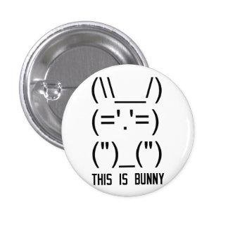 World Domination Bunny Pinback Button