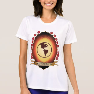 World Domination Mandorla Tee Shirts