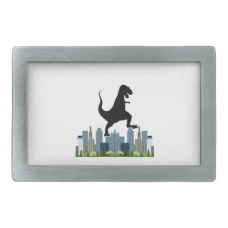 World Domination Rectangular Belt Buckle