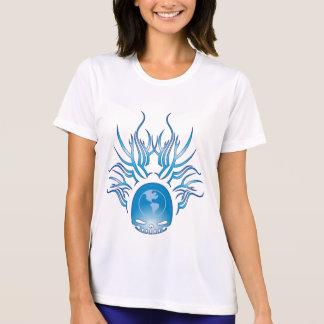 World Domination Skull T Shirt