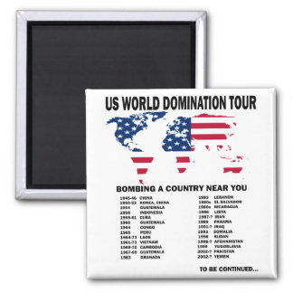 World Domination Tour Magnet