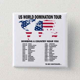World Domination Tour Pinback Button