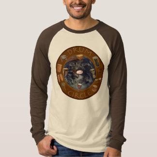 world drum circle tee shirt