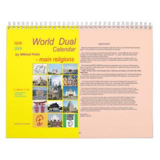 World Dual Calendar 2009 by Mikhail Petin