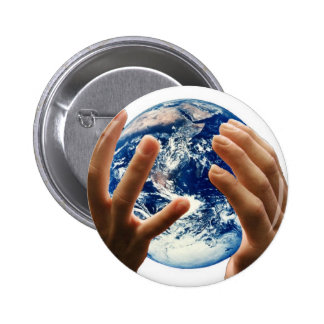 world / earth is mine button