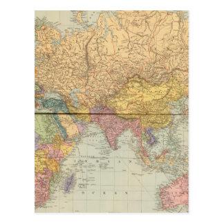 World East Postcard
