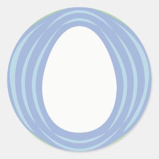 World Egg Medallion Classic Round Sticker