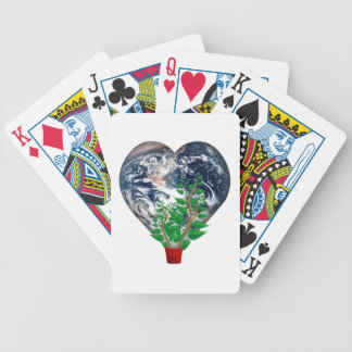 World Environment Day Bicycle Playing Cards