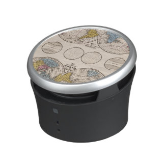 World Equatorial Projection and Polar Projection Speaker