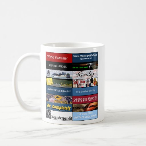 World Examiner GBR-1 banners mug