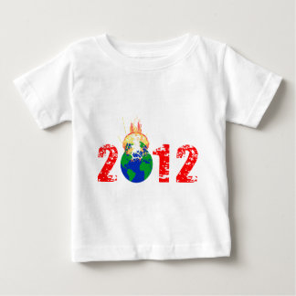 World Exploding in 2012 Baby T-Shirt