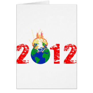 World Exploding in 2012 Card