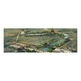 World Expo 1900 Paris France Double-Sided Mini Business Cards (Pack Of 20)