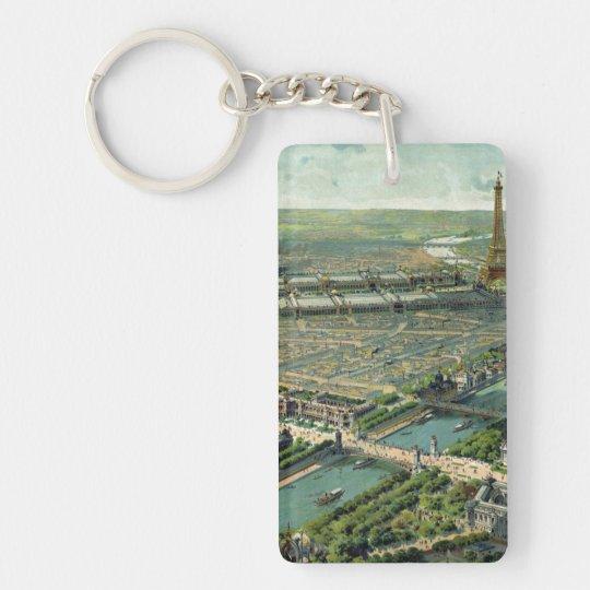 World Expo 1900 Paris France Keychain