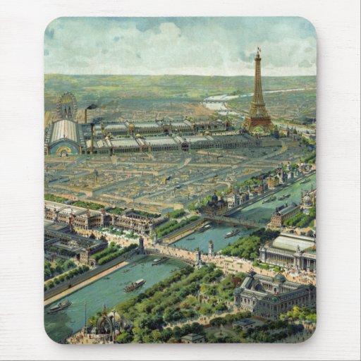 World Expo 1900 Paris France Mouse Pad
